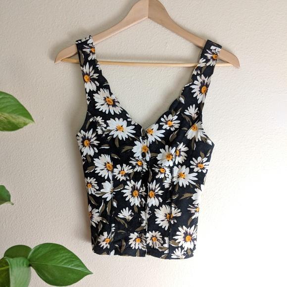 3fdf5dd88298 Kimchi Blue Tops - Sunflower Crop Top Kimchi Blue l Anthropologie